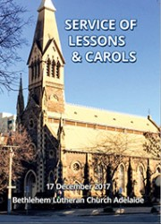 Bethlehem Lessons and Carols 2017