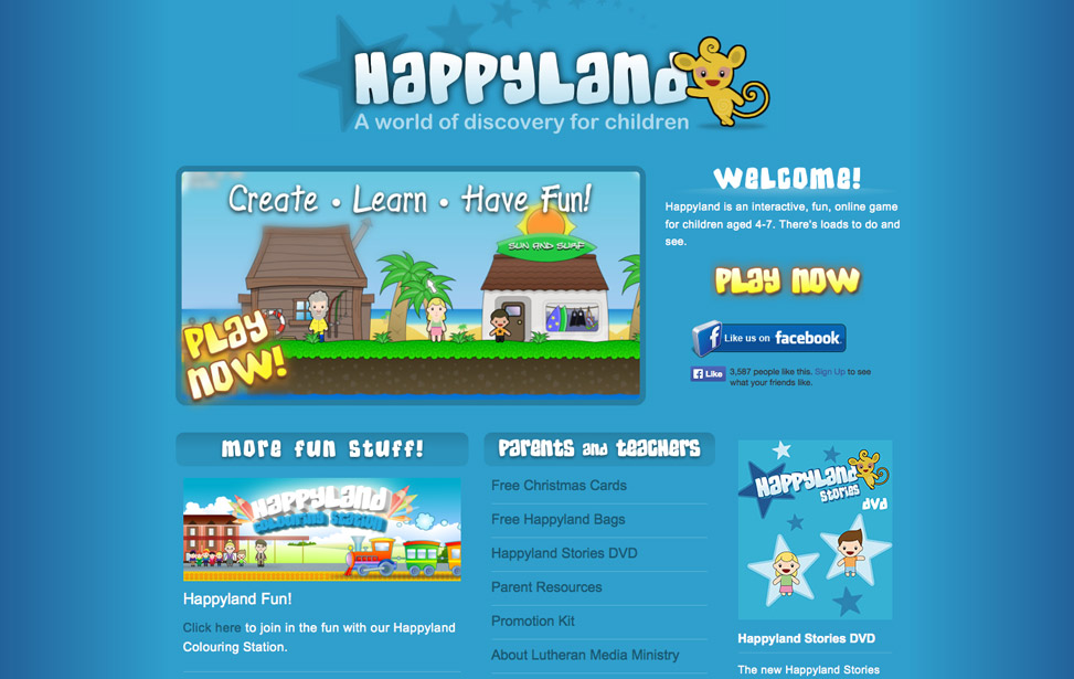Happyland Website