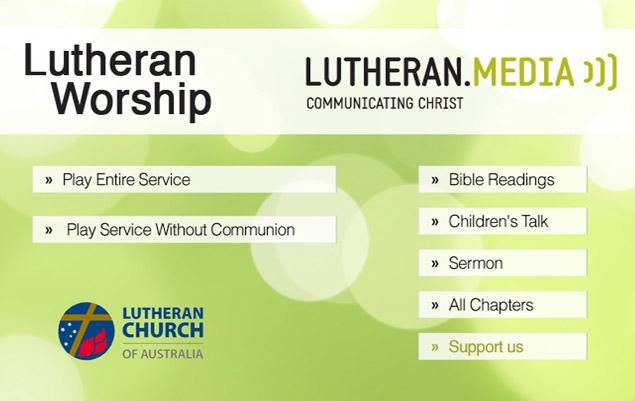 Lutheran Worship DVD