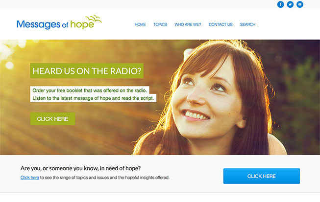 Messages of hope Radio Program